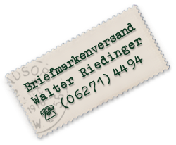 Briefmarken Riedinger in Eberbach